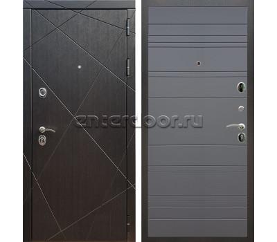 Входная металлическая дверь Армада 13 ФЛ-316 (Венге / Графит софт)