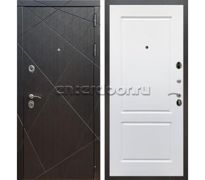 Входная металлическая дверь Армада 13 ФЛ-117 (Венге / Белый матовый)