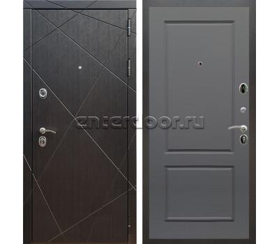 Входная металлическая дверь Армада 13 ФЛ-117 (Венге / Графит софт)