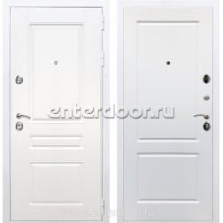 Входная металлическая дверь Армада Премиум Н ФЛ-117 (Белый / Белый софт)