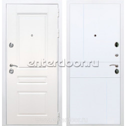 Входная металлическая дверь Армада Премиум Н ФЛ-290 (Белый / Белый софт)