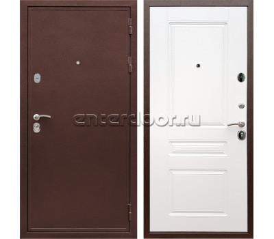 Входная металлическая дверь Армада 5А сталь 3 мм ФЛ-243 (Медный антик / Белый матовый)