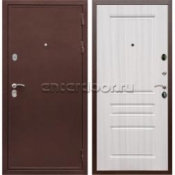 Входная металлическая дверь Армада 5А сталь 3 мм ФЛ-243 (Медный антик / Сандал белый)