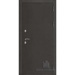 Входная уличная дверь премиум термо 3 (антик темное серебро/венге)