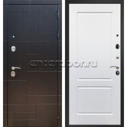 Входная стальная дверь Армада 20 ФЛ-117 (Венге / Белый матовый)
