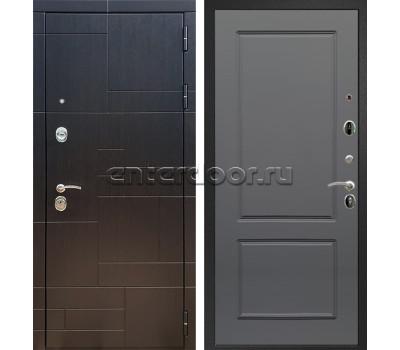 Входная стальная дверь Армада 20 ФЛ-117 (Венге / Графит софт)
