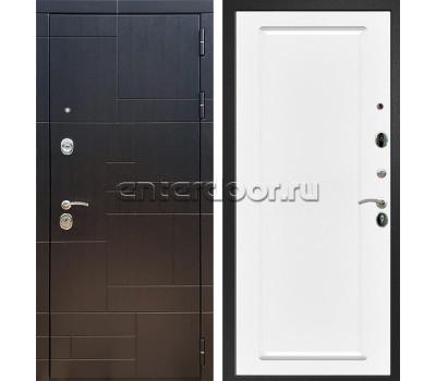 Входная стальная дверь Армада 20 ФЛ-119 (Венге / Белый матовый)