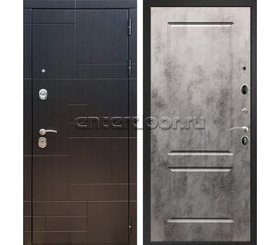 Входная стальная дверь Армада 20 ФЛ-117 (Венге / Бетон тёмный)