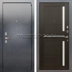 Входная стальная дверь Лекс 3 Барк Баджио (Серый букле / Венге) панель №50