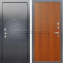 Входная стальная дверь Лекс 3 Барк (Серый букле / Итальянский орех) панель №3