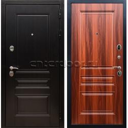 Входная металлическая дверь Армада 17 Мегаполис ФЛ-243 (Венге / Орех итальянский)