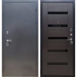 Входная стальная дверь Армада 11 СБ-14 (Антик серебро / Венге)