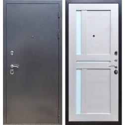 Входная стальная дверь Армада 11 СБ-18 (Антик серебро / Лиственница беж)