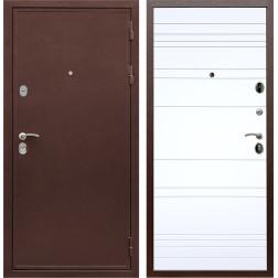 Входная металлическая дверь Армада 5А ФЛ-14 (Медный антик / Белый софт)