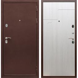 Входная металлическая дверь Армада 5А ФЛ-246 (Медный антик / Лиственница беж)