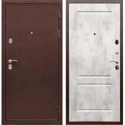 Входная металлическая дверь Армада 5А ФЛ-117 (Медный антик / Бетон светлый)