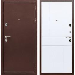 Входная металлическая дверь Армада 5А ФЛ-290 (Медный антик / Белый софт)