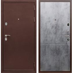 Входная металлическая дверь Армада 5А ФЛ-290 (Медный антик / Бетон тёмный)