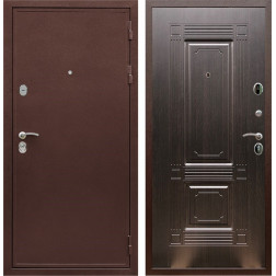 Входная металлическая дверь Армада 5А ФЛ-2 (Медный антик / Венге)