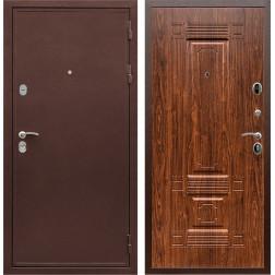 Входная металлическая дверь Армада 5А ФЛ-2 (Медный антик / Берёза морёная)