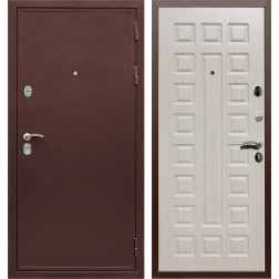 Входная металлическая дверь Армада 5А ФЛ-183 (Медный антик / Дуб беленый)