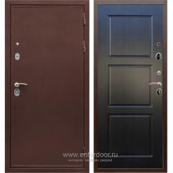 Входная металлическая дверь Армада 5А ФЛ-3 (Медный антик / Венге)