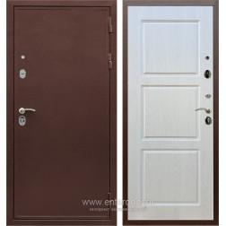 Входная металлическая дверь Армада 5А ФЛ-3 (Медный антик / Лиственница беж)