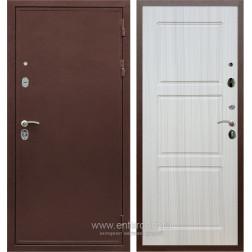 Входная металлическая дверь Армада 5А ФЛ-3 (Медный антик / Сандал белый)