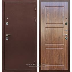 Входная металлическая дверь Армада 5А ФЛ-3 (Медный антик / Берёза морёная)
