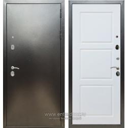 Входная металлическая дверь Армада 5А ФЛ-3 (Антик серебро / Белый матовый)