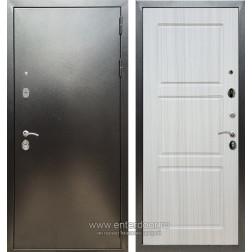 Входная металлическая дверь Армада 5А ФЛ-3 (Антик серебро / Сандал белый)