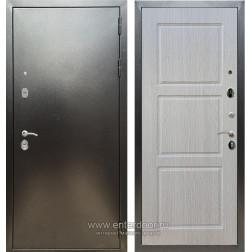 Входная металлическая дверь Армада 5А ФЛ-3 (Антик серебро / Дуб беленый)