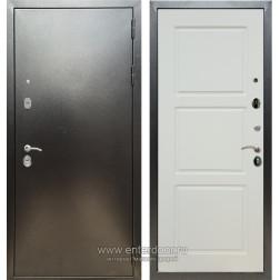Входная металлическая дверь Армада 5А ФЛ-3 (Антик серебро / Софт шампань)