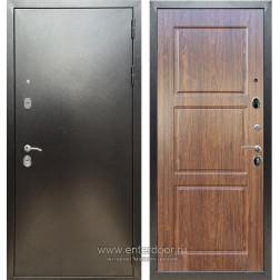 Входная металлическая дверь Армада 5А ФЛ-3 (Антик серебро / Берёза морёная)