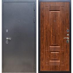 Входная стальная дверь Армада 11 ФЛ-2 (Антик серебро / Берёза морёная)