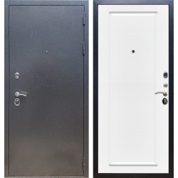 Входная стальная дверь Армада 11 ФЛ-119 (Антик серебро / Белый матовый)