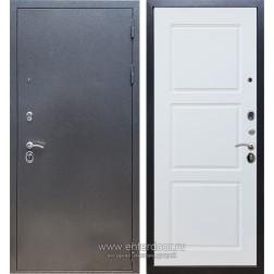 Входная металлическая дверь Армада 11 ФЛ-3 (Антик серебро / Белый матовый)