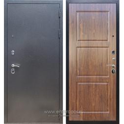 Входная металлическая дверь Армада 11 ФЛ-3 (Антик серебро / Берёза морёная)