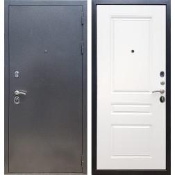 Входная металлическая дверь Армада 11 ФЛ-243 (Антик серебро / Белый матовый)