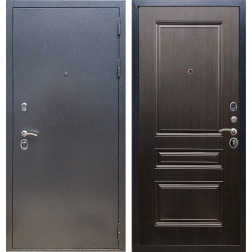 Входная стальная дверь Армада 11 ФЛ-243 (Антик серебро / Венге)
