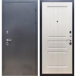 Входная стальная дверь Армада 11 ФЛ-243 (Антик серебро / Лиственница беж)