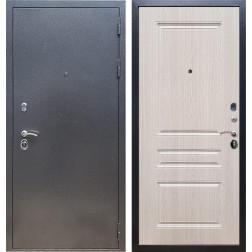 Входная стальная дверь Армада 11 ФЛ-243 (Антик серебро / Дуб беленый)