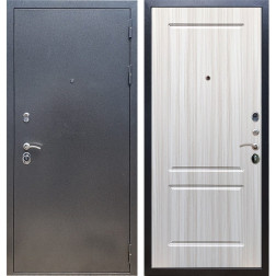 Входная стальная дверь Армада 11 ФЛ-117 (Антик серебро / Сандал белый)