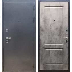 Входная стальная дверь Армада 11 ФЛ-117 (Антик серебро / Бетон тёмный)
