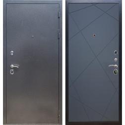 Входная стальная дверь Армада 11 ФЛ-291 (Антик серебро / Графит софт)