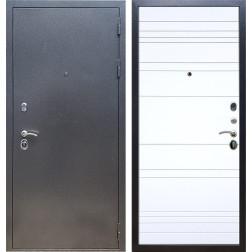 Входная стальная дверь Армада 11 ФЛ-14 (Антик серебро / Белый матовый)