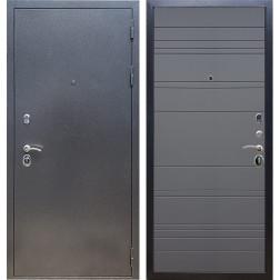 Входная стальная дверь Армада 11 ФЛ-14 (Антик серебро / Графит софт)