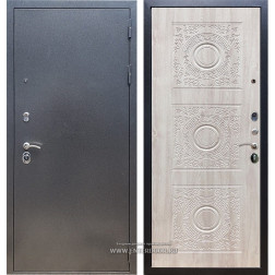 Входная стальная дверь Армада 11 Д-18 (Антик серебро / Сосна белая)