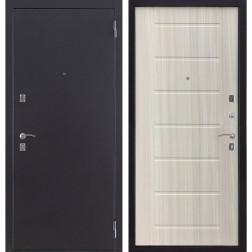 Входная металлическая дверь Триумф ФЛ Нео (Антик серебро / Сандал белый)