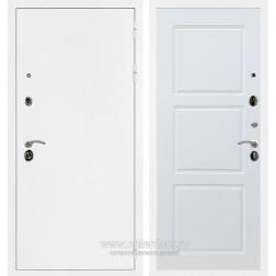 Входная металлическая дверь Армада 5А ФЛ-3 (Белая шагрень / Белый матовый)
